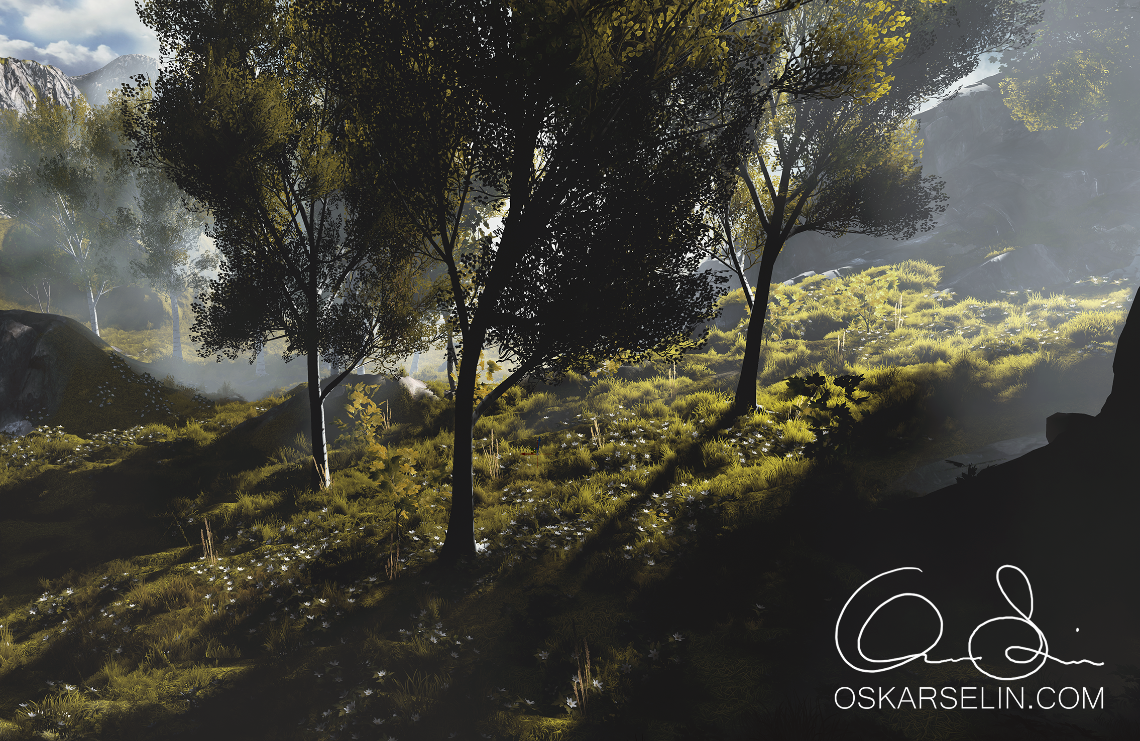 Forest Environment - Unreal Engine 4 — polycount